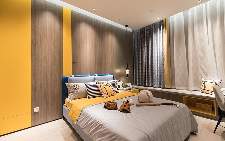 极简生活·卧房护墙系统