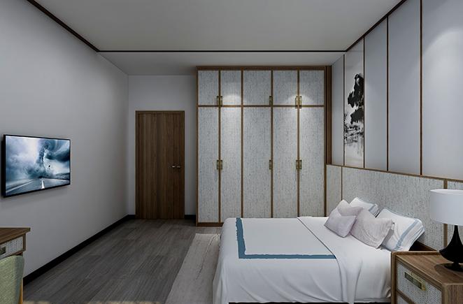 烟雨江南•卧房护墙系统