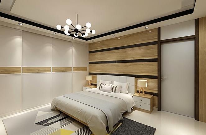 自然之歌•卧房护墙系统